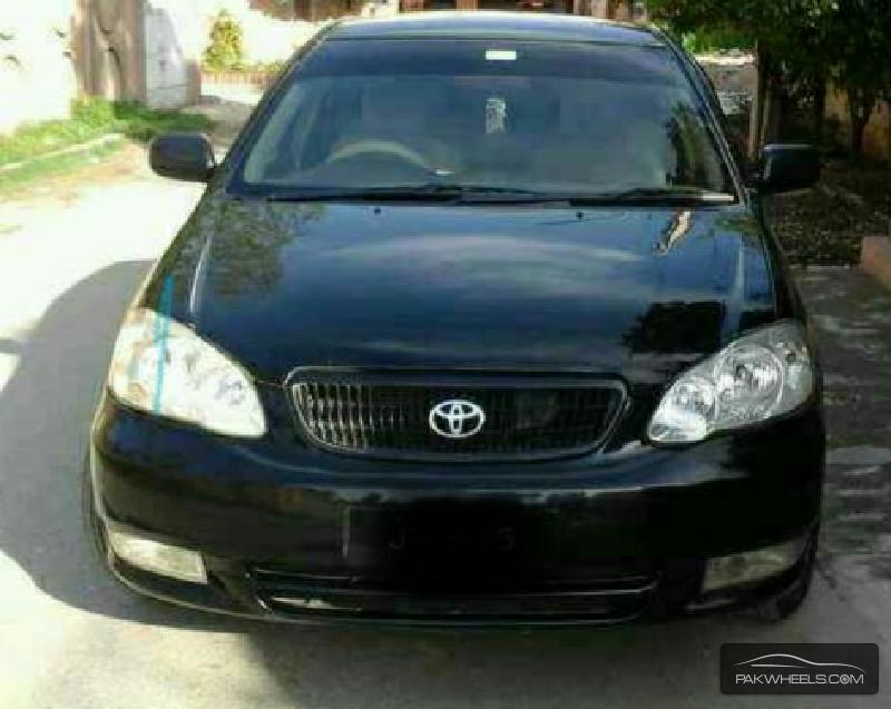 Toyota Corolla 2005 Black Toyota Corolla Xli 2005 For