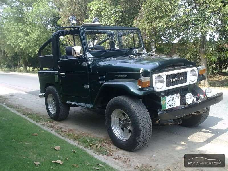 Toyota Land Cruiser Fj40 1982 For Sale In Lahore Pakwheels