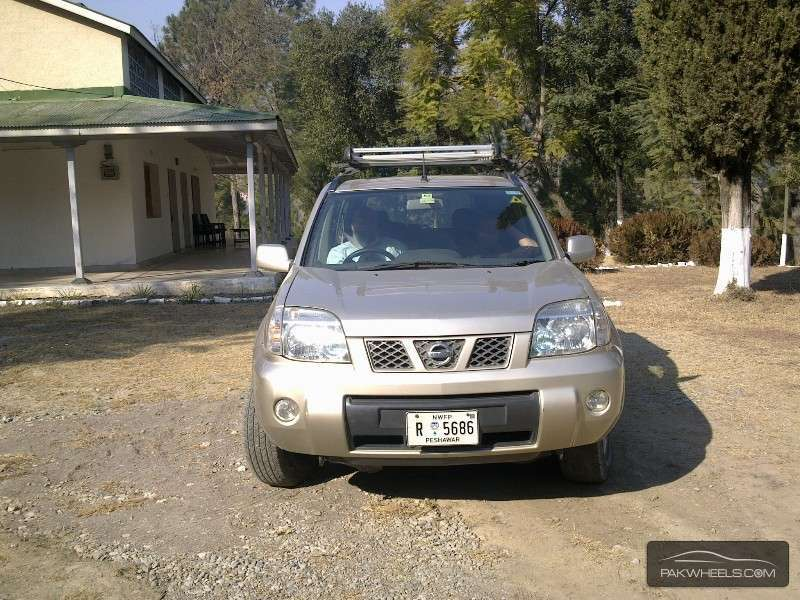 nissan x trail 2 2 slx 2005 for sale in abottabad pakwheels. Black Bedroom Furniture Sets. Home Design Ideas