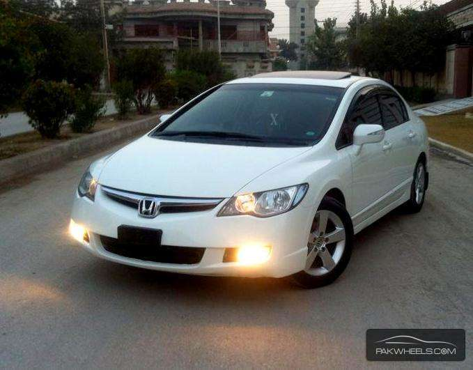 used honda civic vti 1 8 i vtec oriel 2009 car for sale in peshawar 1048769 pakwheels. Black Bedroom Furniture Sets. Home Design Ideas