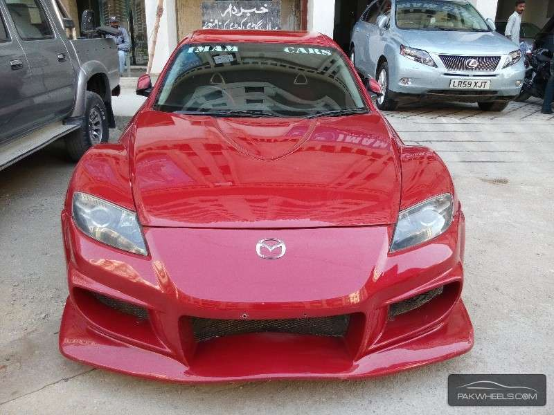 mazda rx8 rotary engine 40th anniversary 2004 for sale in karachi pakwheels. Black Bedroom Furniture Sets. Home Design Ideas