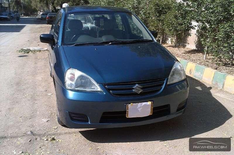 used suzuki liana 1 3 rxi 2009 car for sale in karachi 1062455 pakwheels. Black Bedroom Furniture Sets. Home Design Ideas