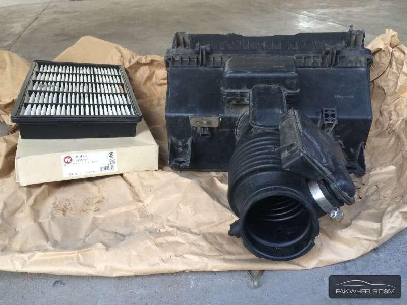 Mazda Rx-8 Orignal Air Filter System. At Clifton Karachi. Image-1