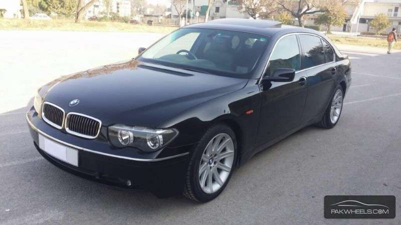bmw 7 series 745li 2004 for sale in islamabad pakwheels. Black Bedroom Furniture Sets. Home Design Ideas