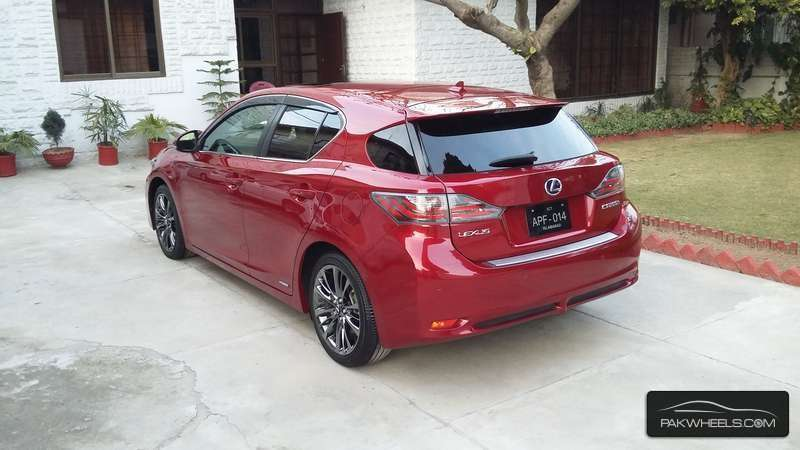 used lexus ct 200h 2011 car for sale in rawalpindi