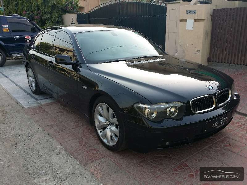 bmw 7 series 730d 2003 for sale in lahore pakwheels. Black Bedroom Furniture Sets. Home Design Ideas