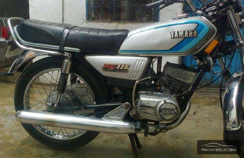 Used yamaha rx 115 1983 bike for sale in rawalpindi for Yamaha rx115 motorcycle for sale