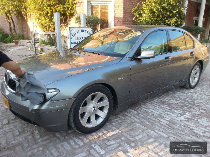 bmw 7 series 730d 2004 for sale in lahore pakwheels. Black Bedroom Furniture Sets. Home Design Ideas