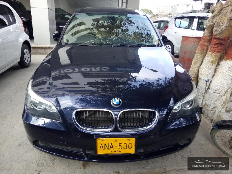 BMW 5 Series 530i 2004 for sale in Karachi  PakWheels