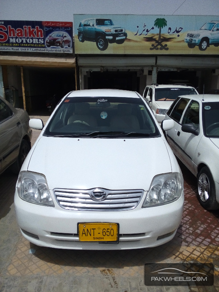 used toyota corolla x 2002 car for sale in hyderabad 1116937 pakwheels. Black Bedroom Furniture Sets. Home Design Ideas
