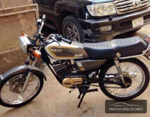 Used yamaha rx 115 1984 bike for sale in karachi 136587 for Yamaha rx115 motorcycle for sale