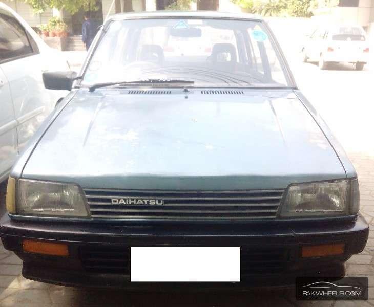Daihatsu Charade CX 1986 Image-2