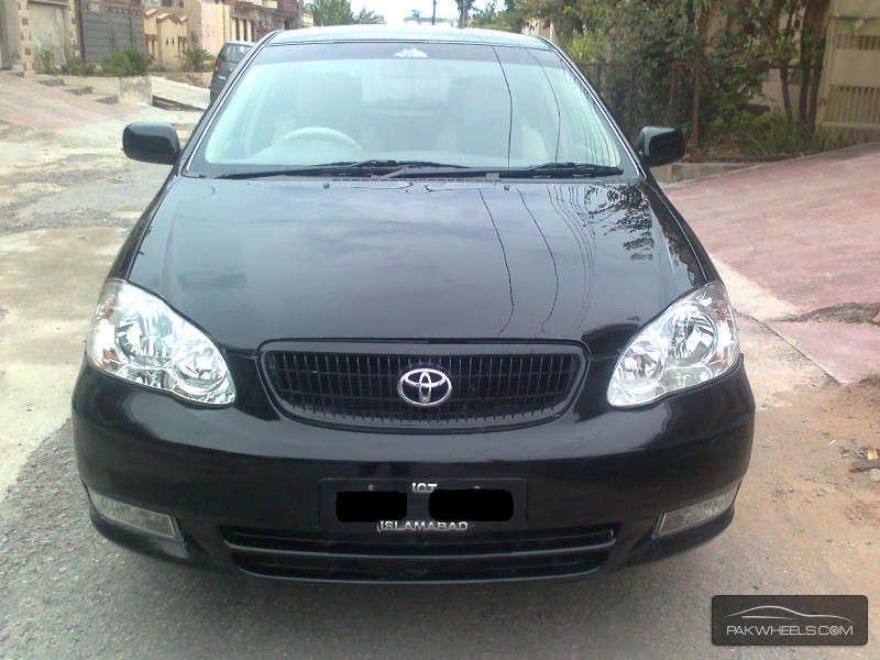 used toyota corolla gli 2008 car for sale in islamabad 1128326 pakwheels. Black Bedroom Furniture Sets. Home Design Ideas