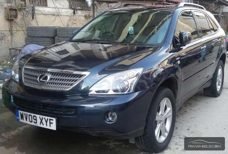 Used Lexus RX Series 400H 2009 Car for sale in Islamabad ...