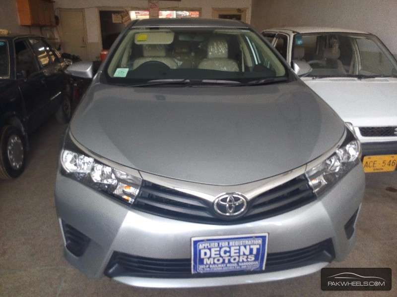 used toyota corolla gli 2015 car for sale in sargodha 1153929 pakwheels. Black Bedroom Furniture Sets. Home Design Ideas