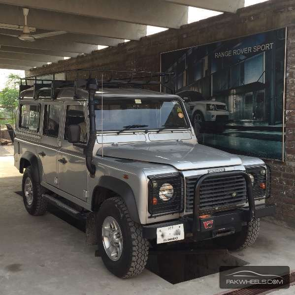 Land Rover Defender 110 Sw 2007 For Sale In Lahore Pakwheels