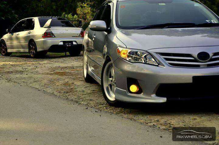 Corolla 2012 complete body kit For Sale for sale in Karachi - Parts & Accessories | PakWheels