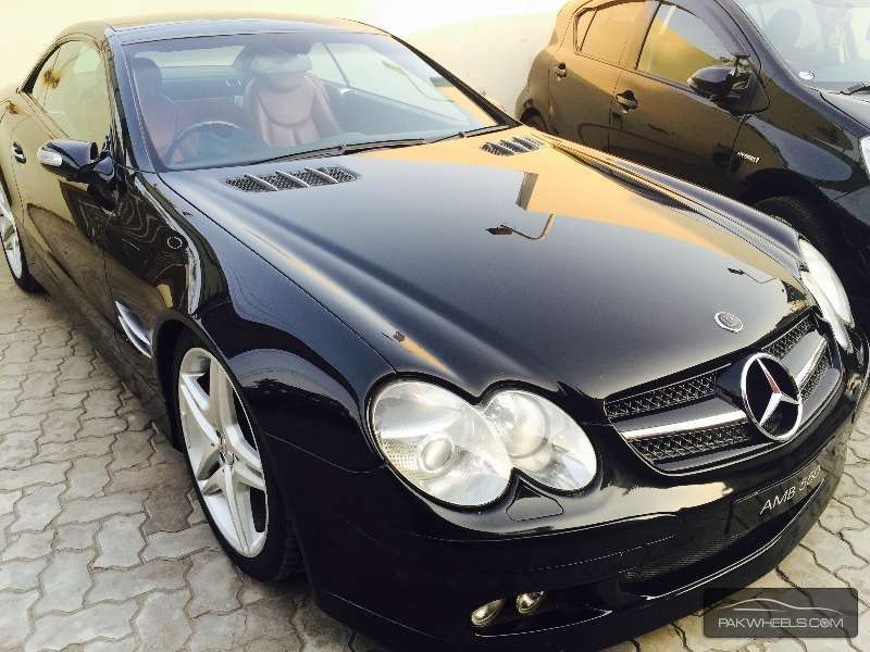 mercedes benz sl class sl 350 2003 for sale in lahore pakwheels. Black Bedroom Furniture Sets. Home Design Ideas