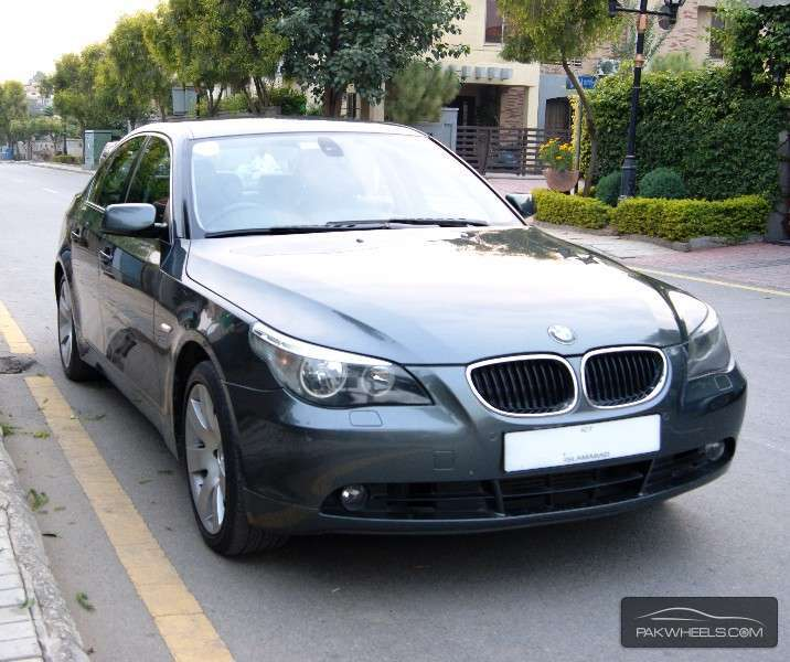 bmw 5 series 530d 2004 for sale in islamabad pakwheels. Black Bedroom Furniture Sets. Home Design Ideas