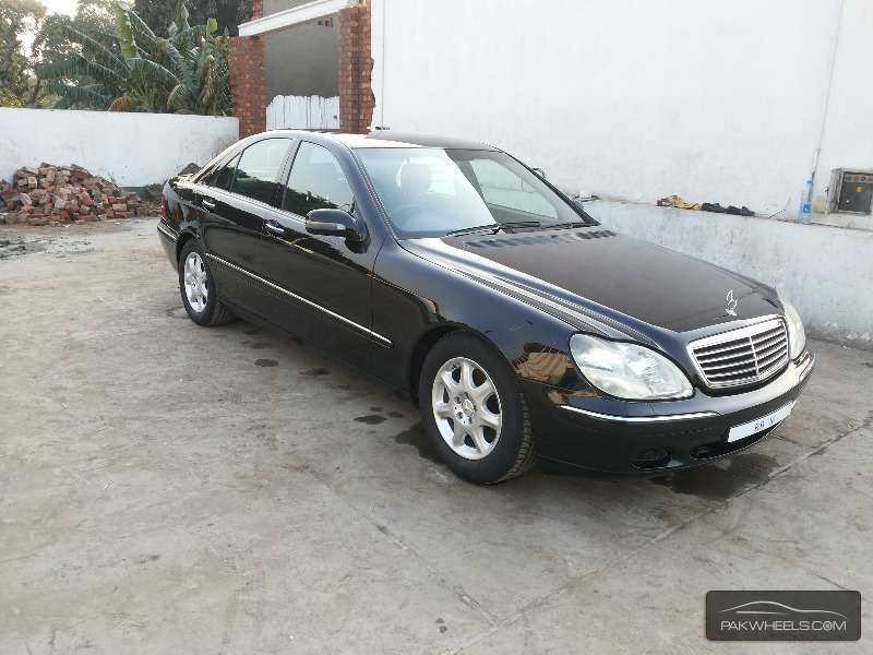 mercedes benz s class s 320 2002 for sale in lahore pakwheels. Black Bedroom Furniture Sets. Home Design Ideas