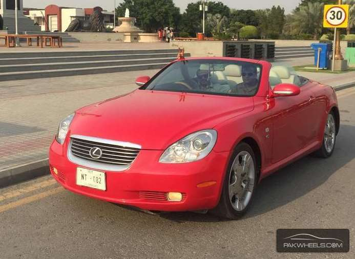 lexus sc 430 2003 for sale in lahore pakwheels. Black Bedroom Furniture Sets. Home Design Ideas