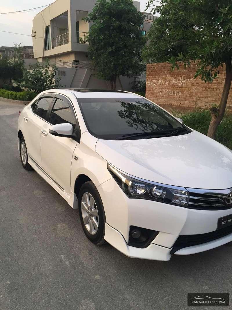 Toyota Corolla Altis Grande Cvt I 1 8 2014 For Sale In