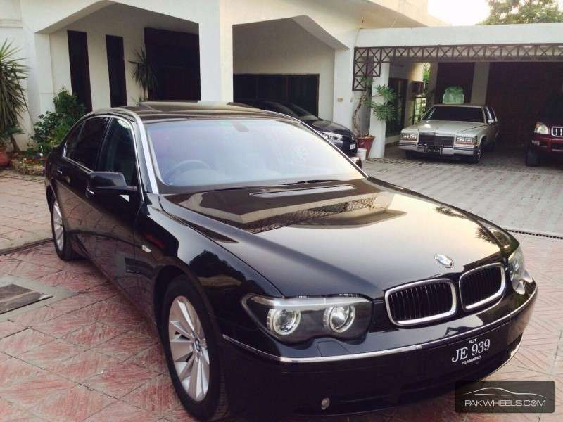 bmw 7 series 745li 2003 for sale in islamabad pakwheels. Black Bedroom Furniture Sets. Home Design Ideas