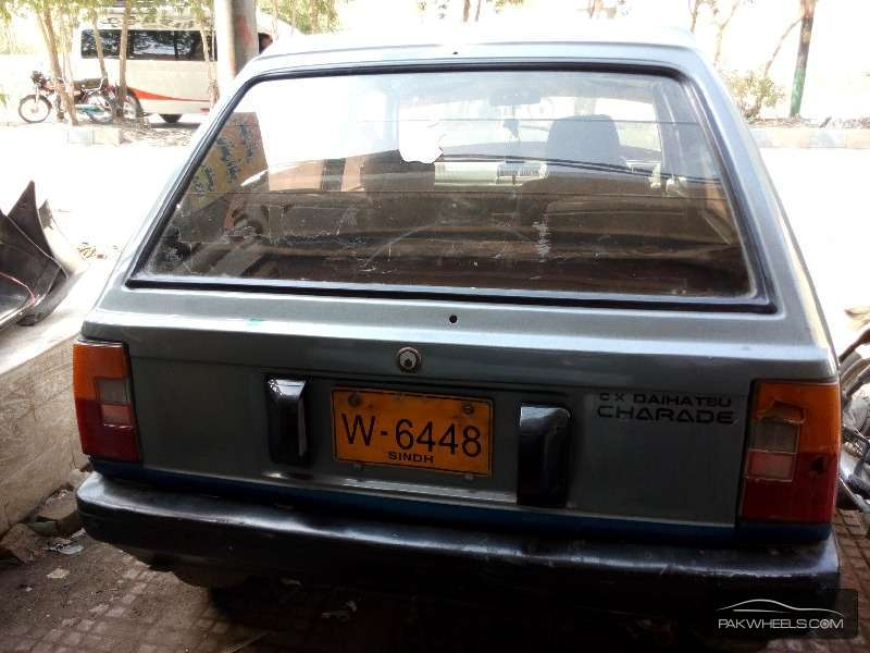 Daihatsu Charade CX 1984 Image-4