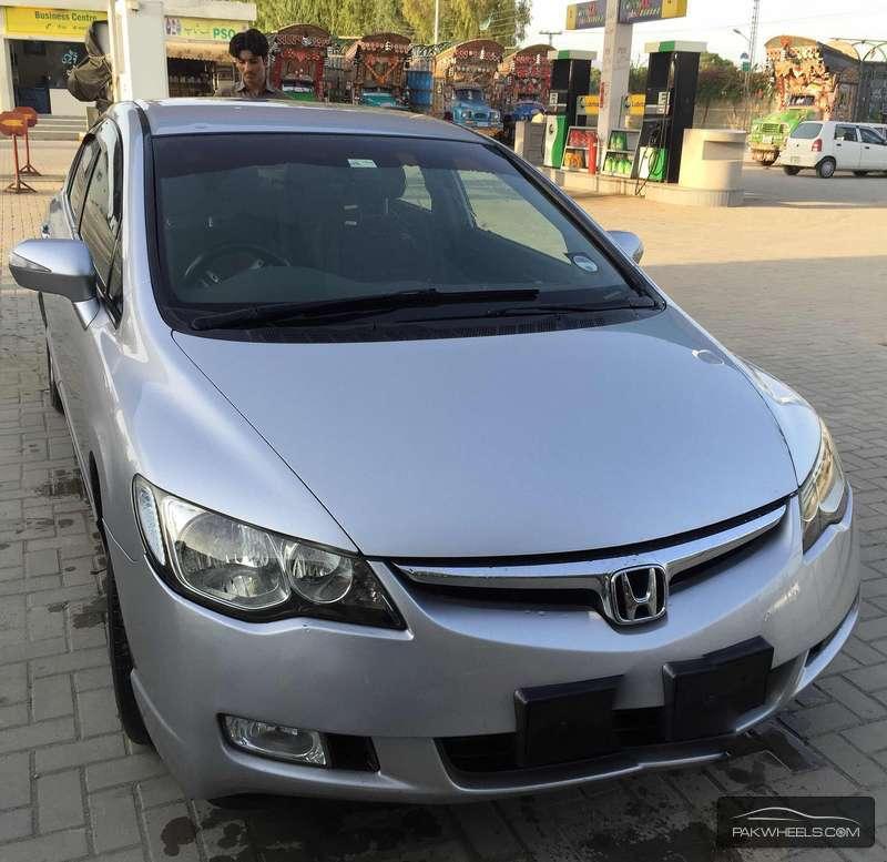 Honda Civic Hybrid 2008 Image-2