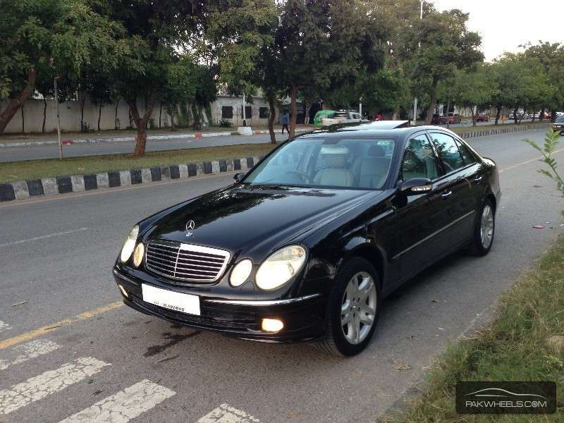 Mercedes benz e class 2005 for sale in islamabad pakwheels for Mercedes benz 2005 e class