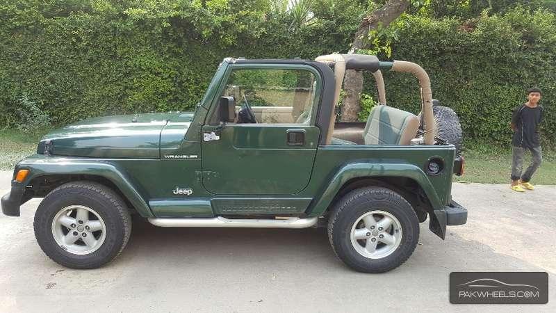 used jeep wrangler sahara 2002 car for sale in lahore