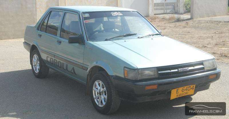 Toyota corolla dx saloon 1985 for sale in karachi pakwheels toyota corolla dx saloon 1985 sciox Images