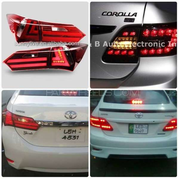 toyota corolla 2012 2015 tail lights for sale for sale. Black Bedroom Furniture Sets. Home Design Ideas
