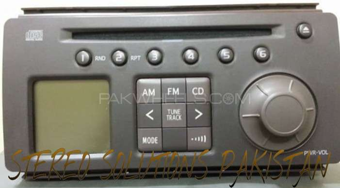 Toyota Passo Original CD player For Sale Image-1