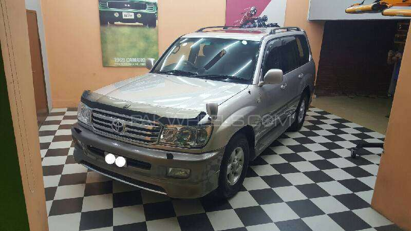 Toyota Land Cruiser Amazon 4.2D 2000 Image-1
