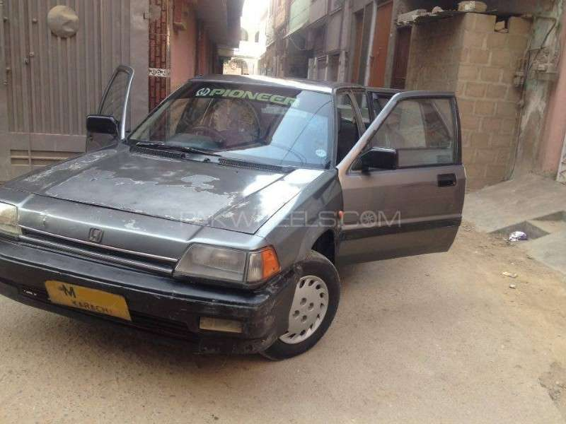 honda civic gl 1987 for sale in karachi pakwheels. Black Bedroom Furniture Sets. Home Design Ideas