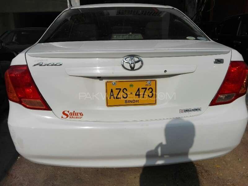 Toyota Corolla Axio X 1.3 2007 Image-8