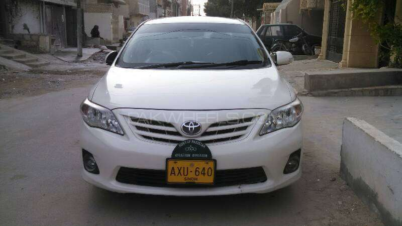 toyota corolla xli 2012 for sale in karachi pakwheels. Black Bedroom Furniture Sets. Home Design Ideas