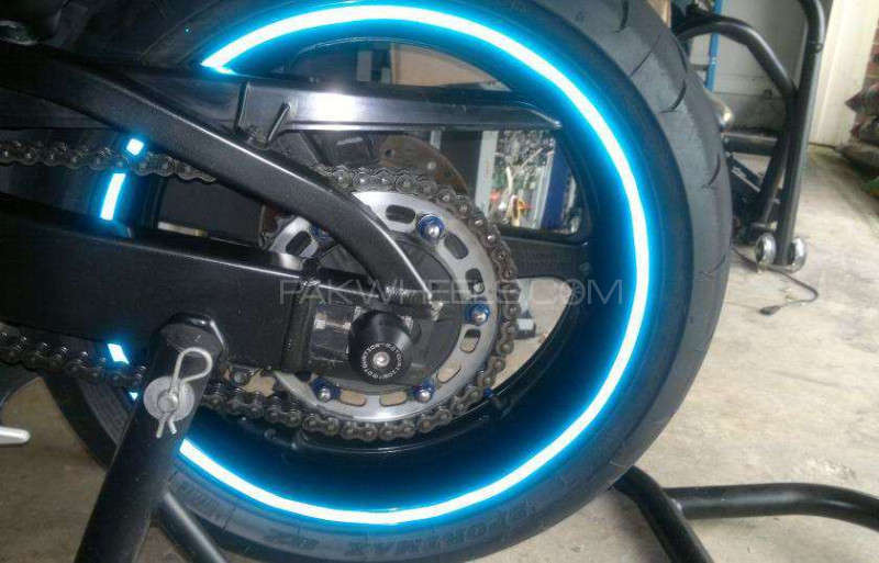 Monster Energy Vinyl Wheel Rim Light Sticker For All Bikes For