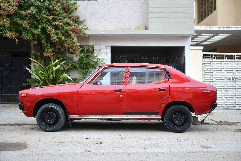 datsun cherry 1974 for sale in karachi pakwheels. Black Bedroom Furniture Sets. Home Design Ideas