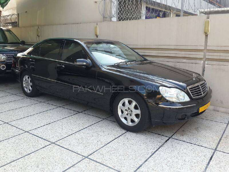 mercedes benz s class s 320 2001 for sale in lahore. Black Bedroom Furniture Sets. Home Design Ideas