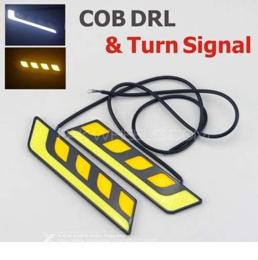 2pcs/lot Waterproof  Car Head Light COB LED Dayt For Sale Image-1