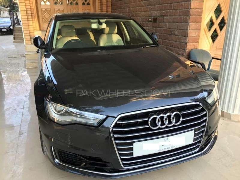 audi a6 2 0 tfsi 2015 for sale in islamabad pakwheels. Black Bedroom Furniture Sets. Home Design Ideas