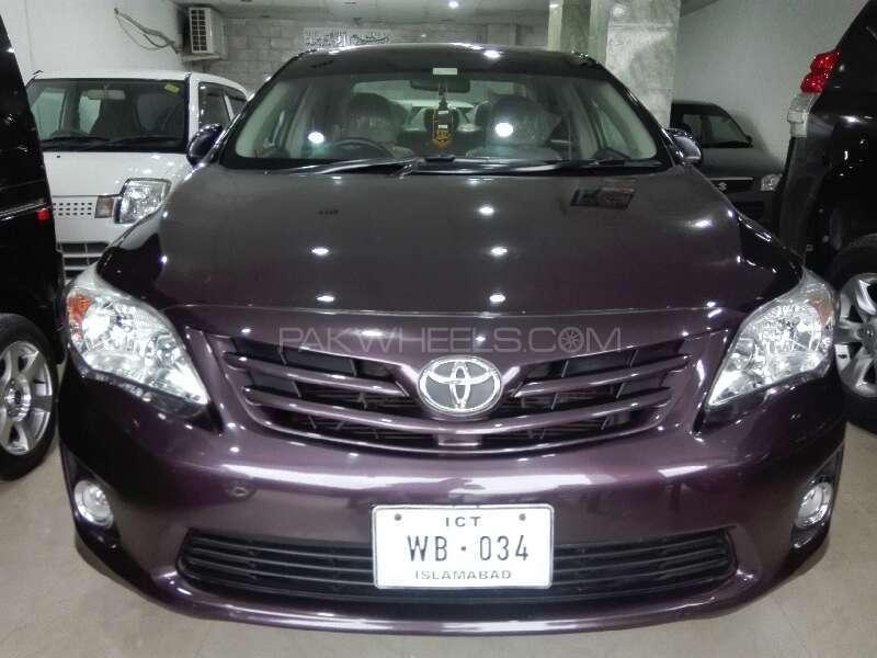 Toyota Corolla GLi 1.6 2012 Image-1