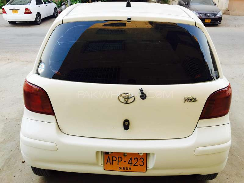 Toyota Vitz F 1.0 2003 Image-7