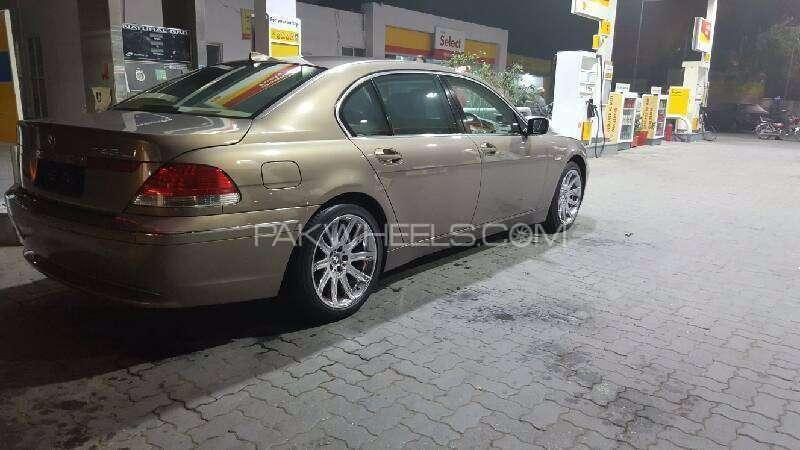bmw 7 series 745li 2002 for sale in lahore pakwheels. Black Bedroom Furniture Sets. Home Design Ideas