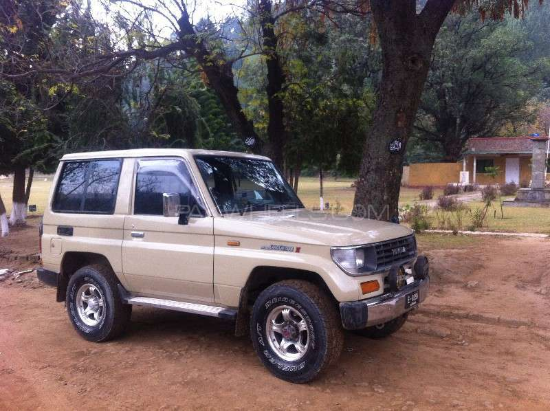 Toyota prado rx 2 7 3 door 1992 for sale in abottabad pakwheels