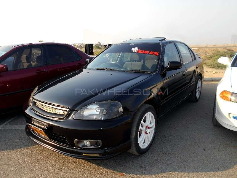 Honda Civic - 2000 Black Ek-9  Image-1