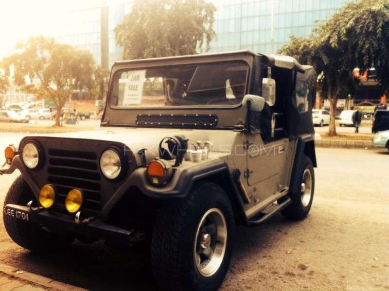 Jeep M 825 - 1981 Stoner Image-1