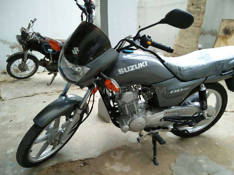 Suzuki GD 110S - 2016 Ali Asgher Zain Image-1